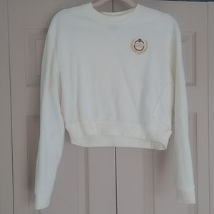 Pacsun L.A Hearts cropped Beverly Hills sweater